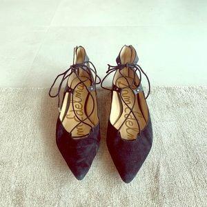 Sam Edelman Black Gladiator Sandals